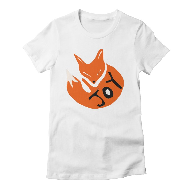 Joy Fox Women's T-Shirt by The Uh Ohs Fantastic Swag Spot of Legends And Yon