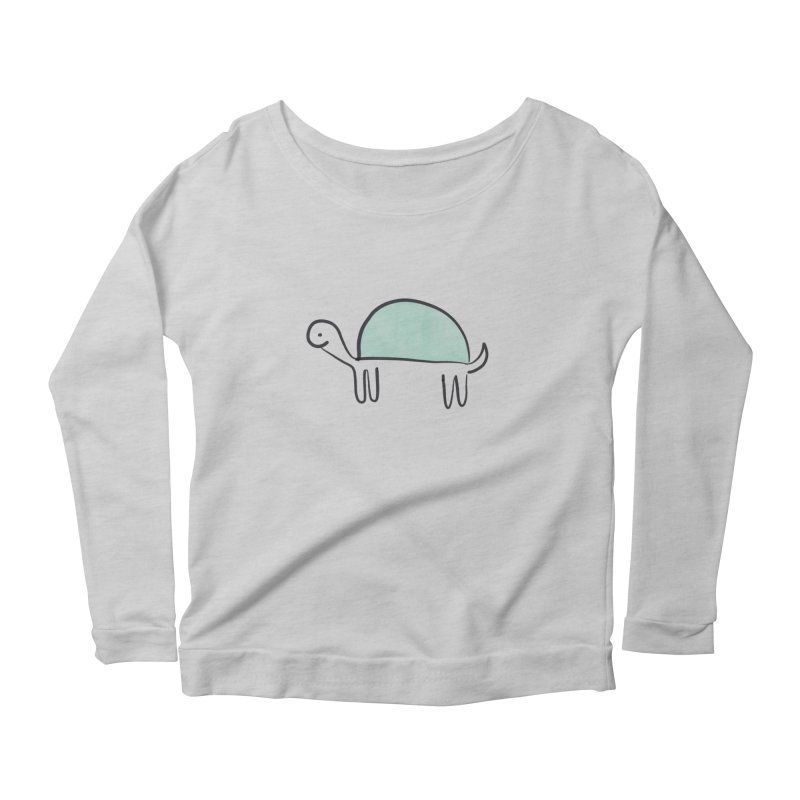 Turtle Time Women's Longsleeve T-Shirt by The Uh Ohs Fantastic Swag Spot of Legends And Yon