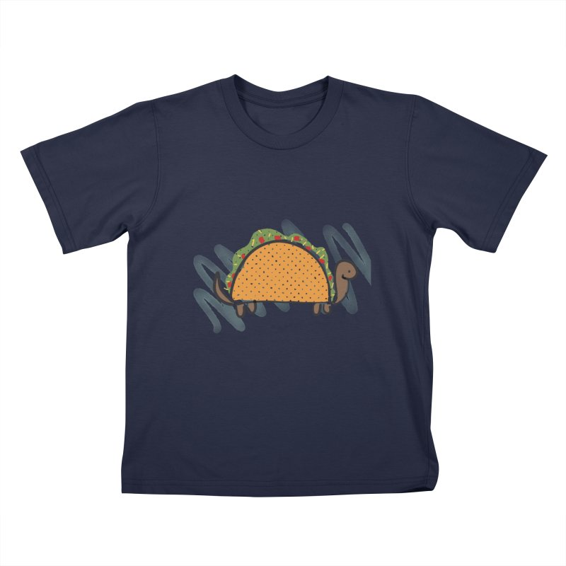 Taco Turtle Kids T-Shirt by The Uh Ohs Fantastic Swag Spot of Legends And Yon