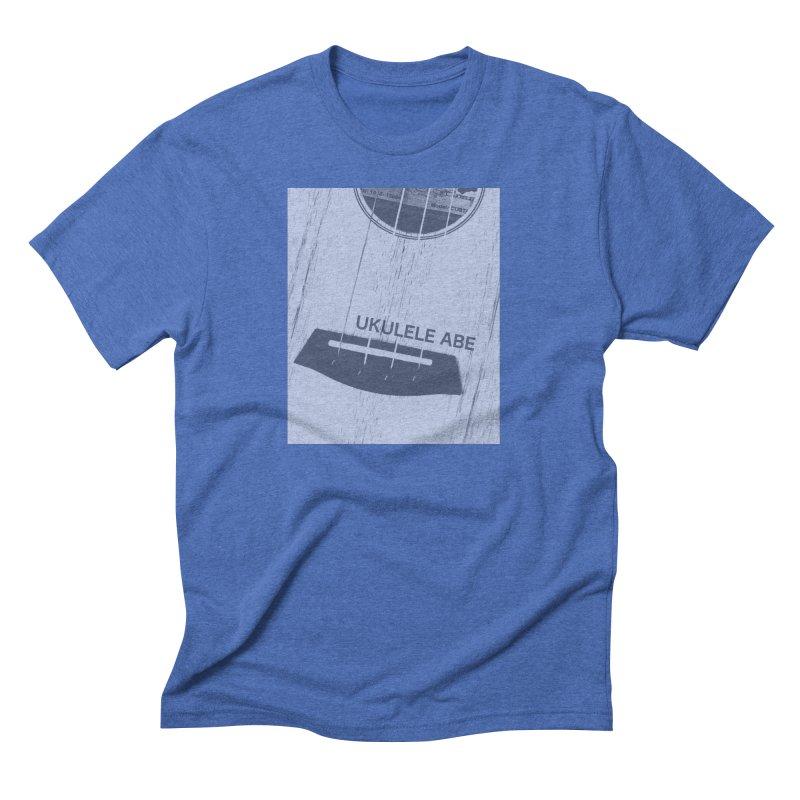 Ukulele close up Men's Triblend T-Shirt by ukulele abe's Artist Shop