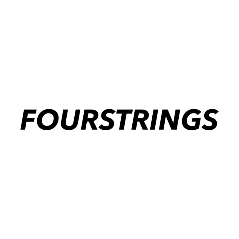 Four strings is life   by ukulele abe's Artist Shop