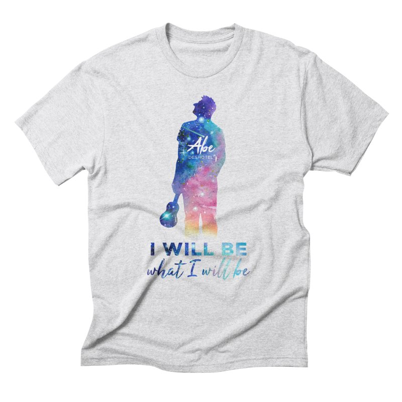 I will be what I will be Men's Triblend T-Shirt by ukulele abe's Artist Shop
