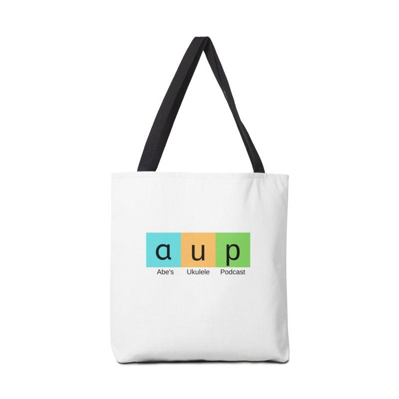 NPR style podcast logo Accessories Tote Bag Bag by ukulele abe's Artist Shop