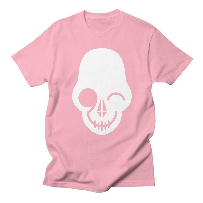 Flirting with danger (white print) Women's Unisex T-Shirt by PAPKOK