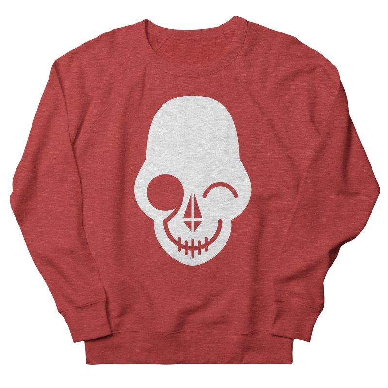 Flirting with danger (white print) Women's Sweatshirt by PAPKOK
