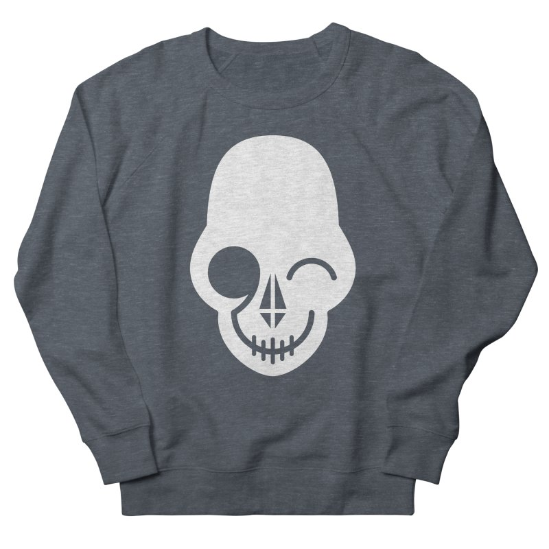Flirting with danger (white print) Men's Sweatshirt by PAPKOK