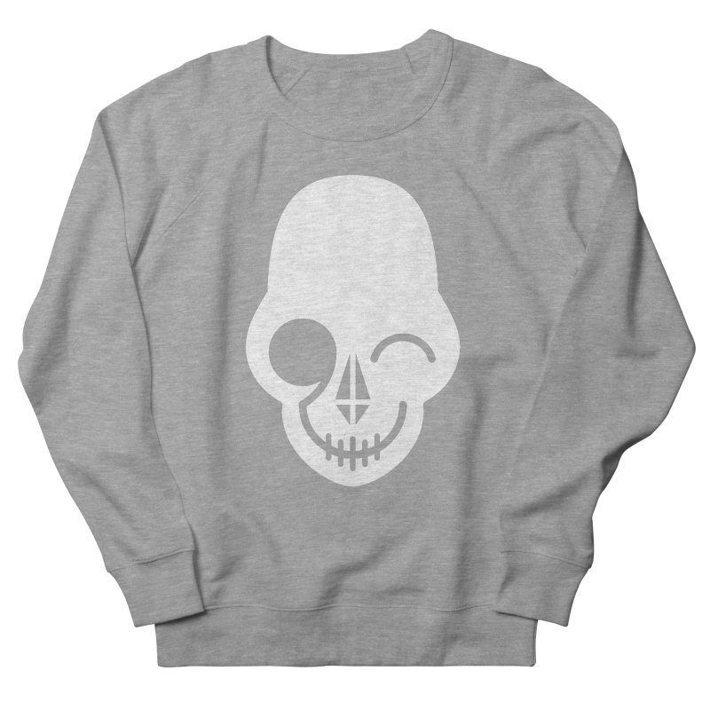 Flirting with danger (white print) Men's Sweatshirt by PAPKOK