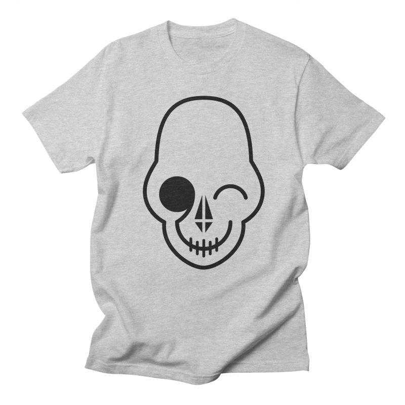 Flirting with danger (black print) Women's Unisex T-Shirt by PAPKOK