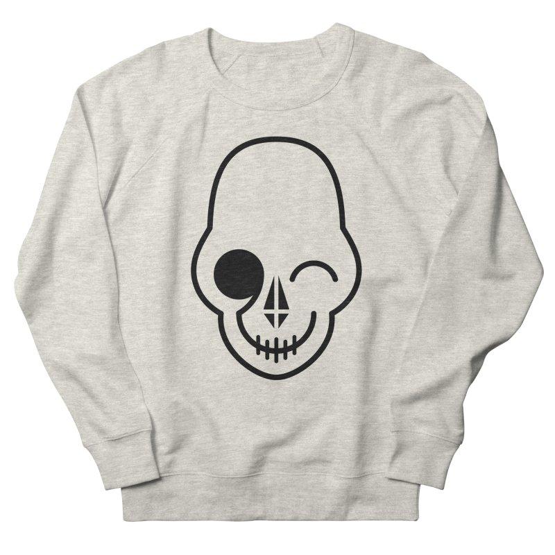 Flirting with danger (black print) Women's Sweatshirt by PAPKOK