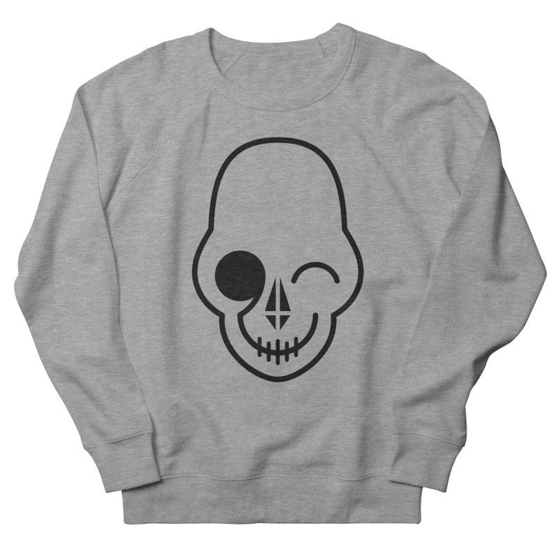Flirting with danger (black print) Men's Sweatshirt by PAPKOK