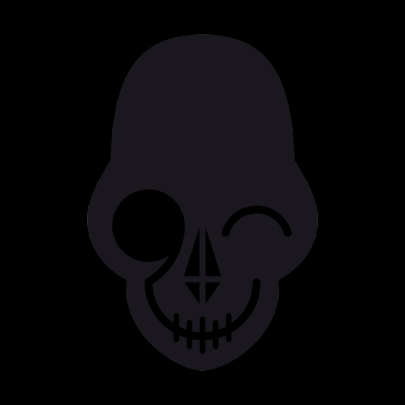 Flirting with danger (dark skull) by PAPKOK