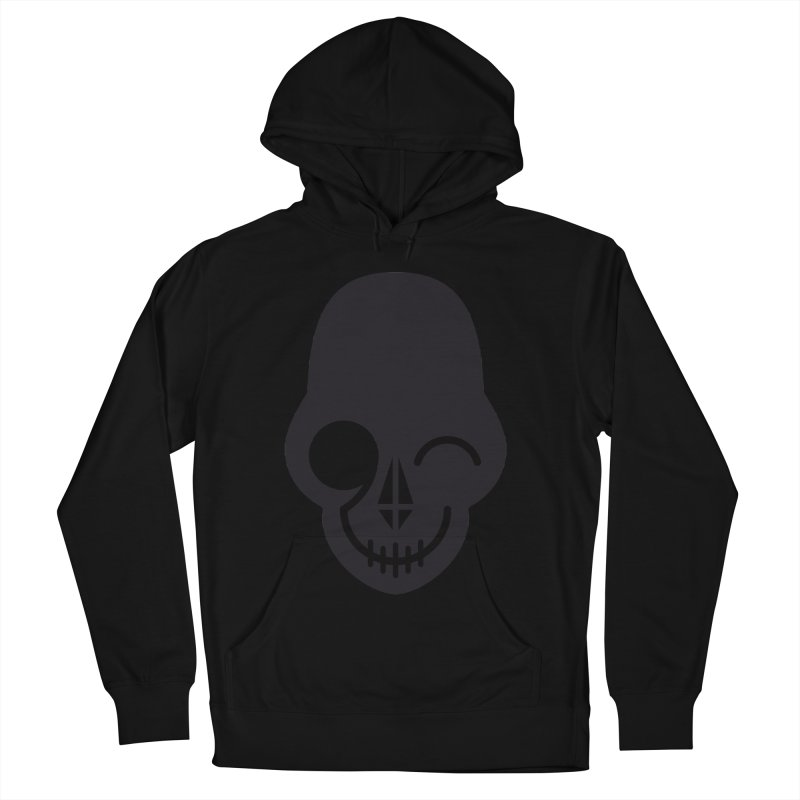 Flirting with danger (dark skull) Women's Pullover Hoody by PAPKOK
