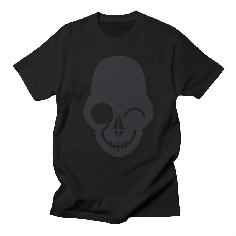 Flirting with danger (dark skull) Women's Unisex T-Shirt by PAPKOK