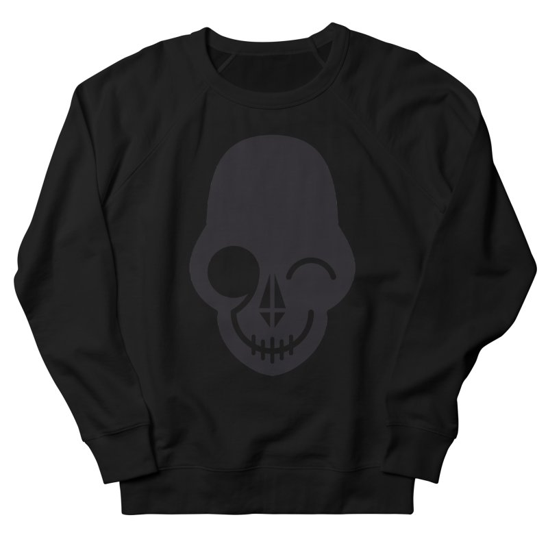 Flirting with danger (dark skull) Women's Sweatshirt by PAPKOK