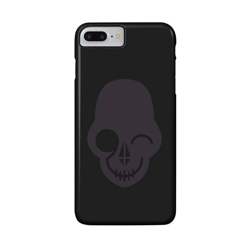 Flirting with danger (dark skull) Accessories Phone Case by PAPKOK