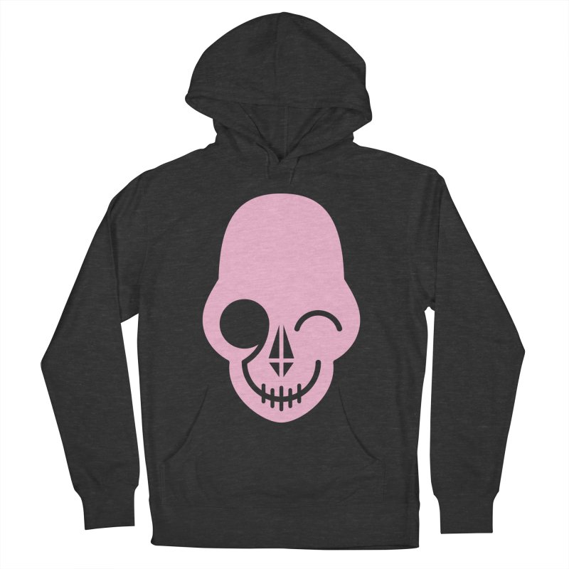 Flirting with danger (Pink) Women's Pullover Hoody by PAPKOK