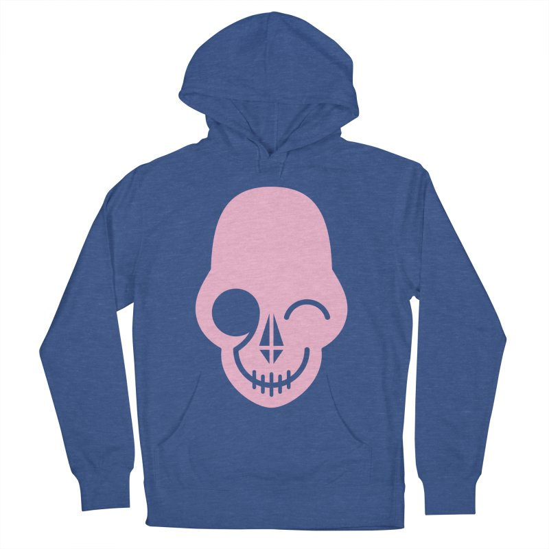 Flirting with danger (Pink) Men's Pullover Hoody by PAPKOK