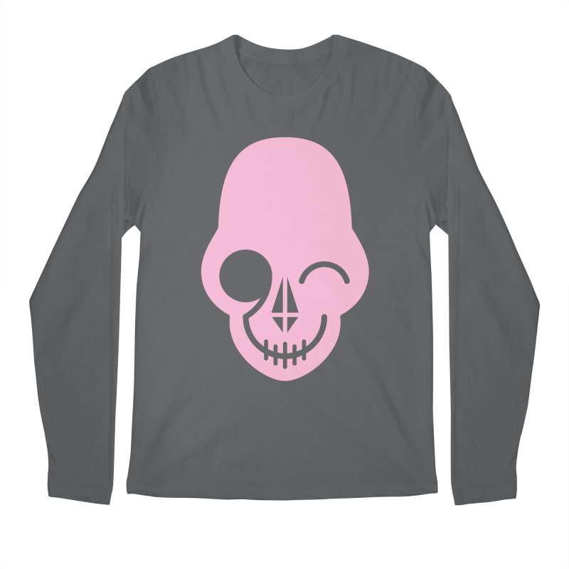 Flirting with danger (Pink) Men's Longsleeve T-Shirt by PAPKOK