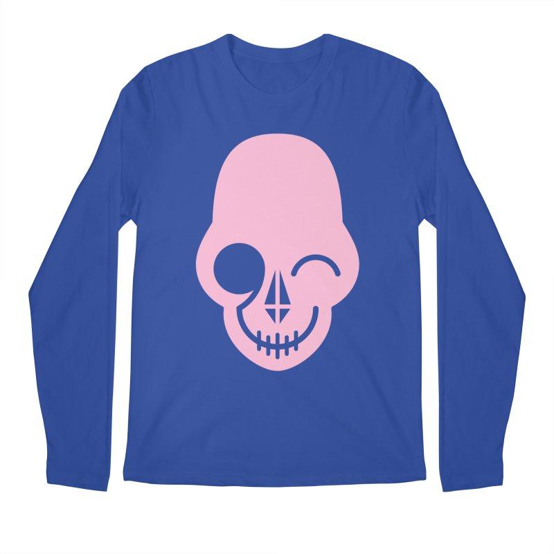 Flirting with danger (Pink) Men's Longsleeve T-Shirt by PAPKOK