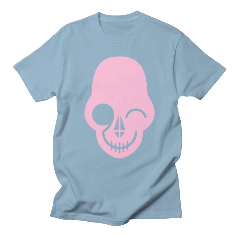 Flirting with danger (Pink) Men's T-Shirt by PAPKOK