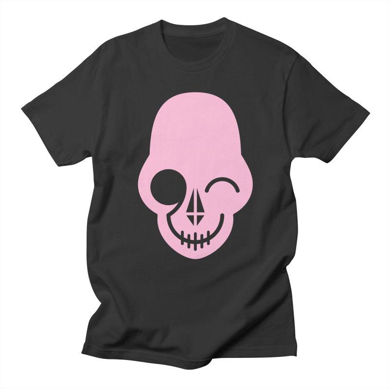 Flirting with danger (Pink) Women's Unisex T-Shirt by PAPKOK