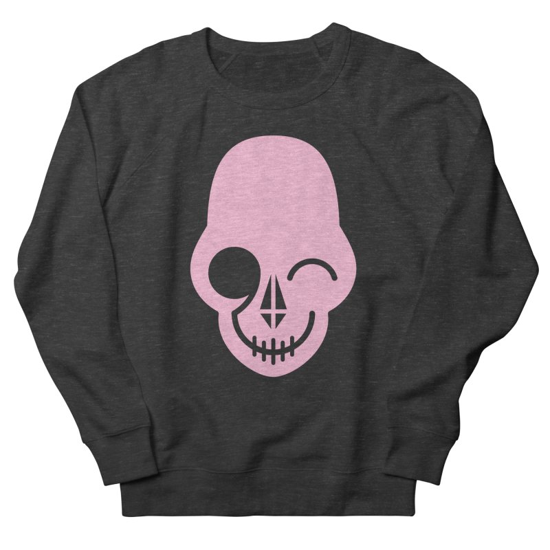 Flirting with danger (Pink) Women's Sweatshirt by PAPKOK