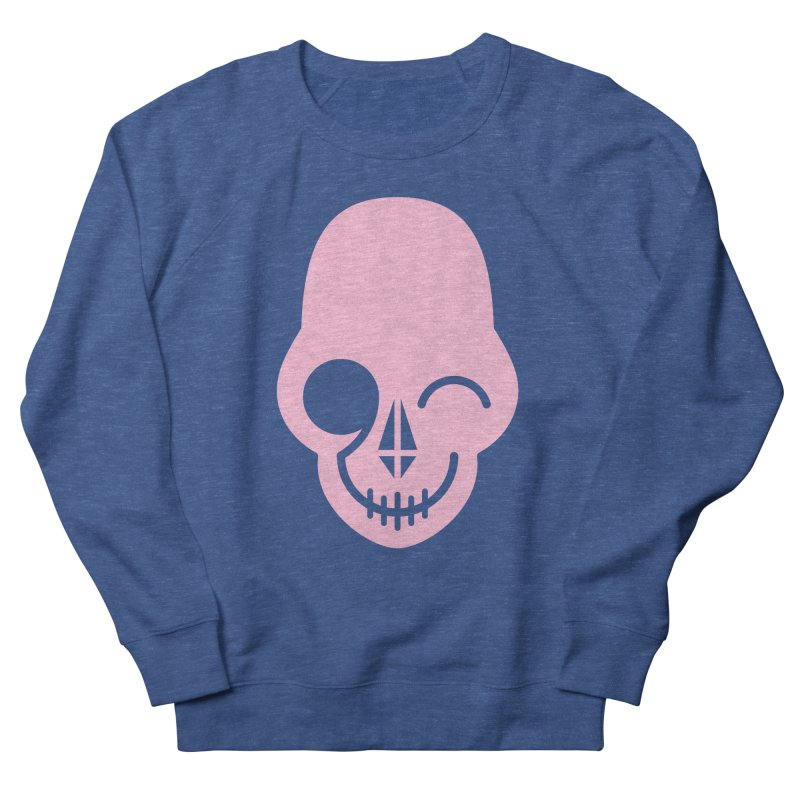 Flirting with danger (Pink) Men's Sweatshirt by PAPKOK