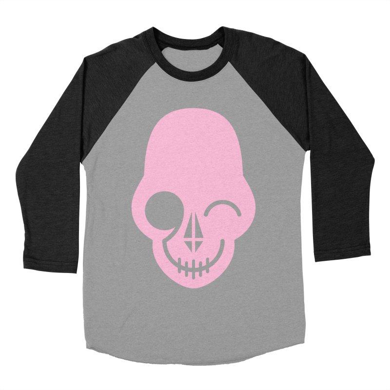 Flirting with danger (Pink) Women's Baseball Triblend T-Shirt by PAPKOK