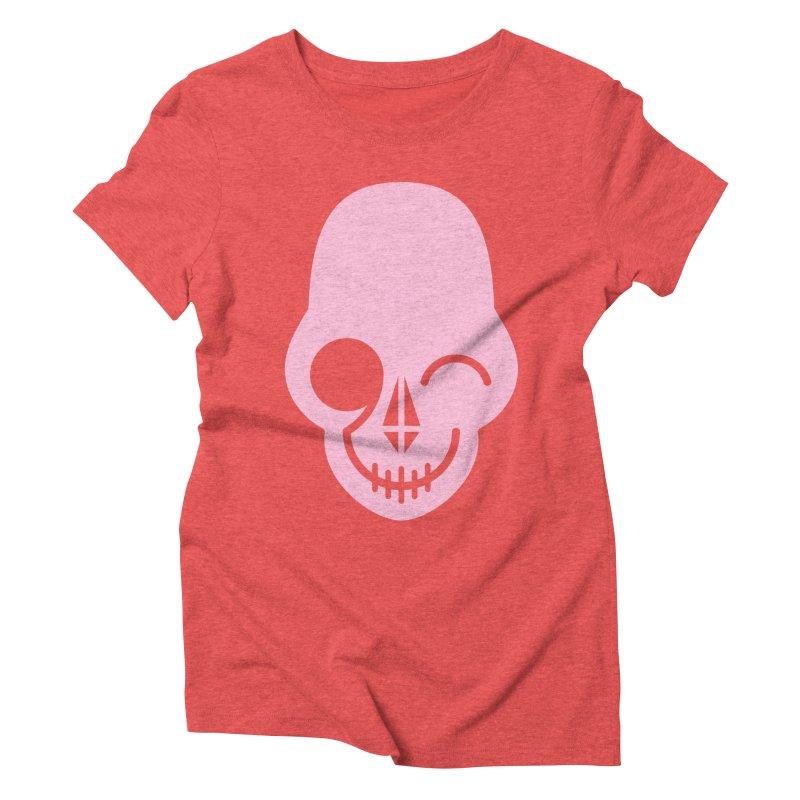 Flirting with danger (Pink) Women's Triblend T-Shirt by PAPKOK