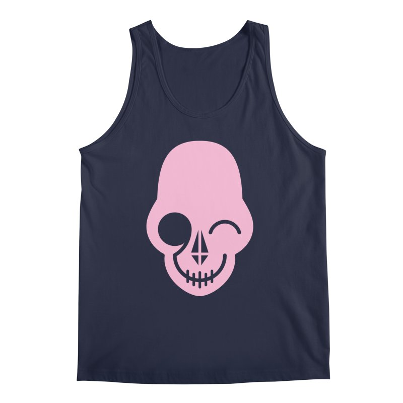 Flirting with danger (Pink) Men's Tank by PAPKOK