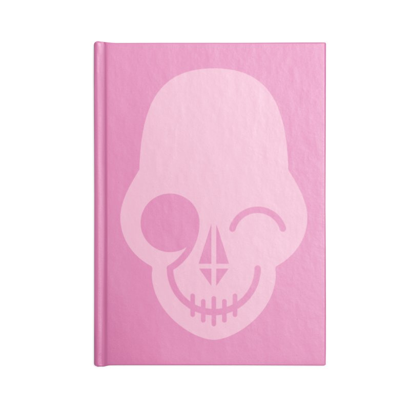 Flirting with danger (Pink) Accessories Notebook by PAPKOK