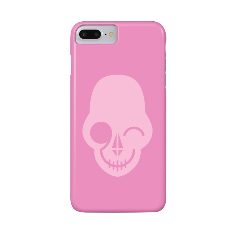 Flirting with danger (Pink) Accessories Phone Case by PAPKOK