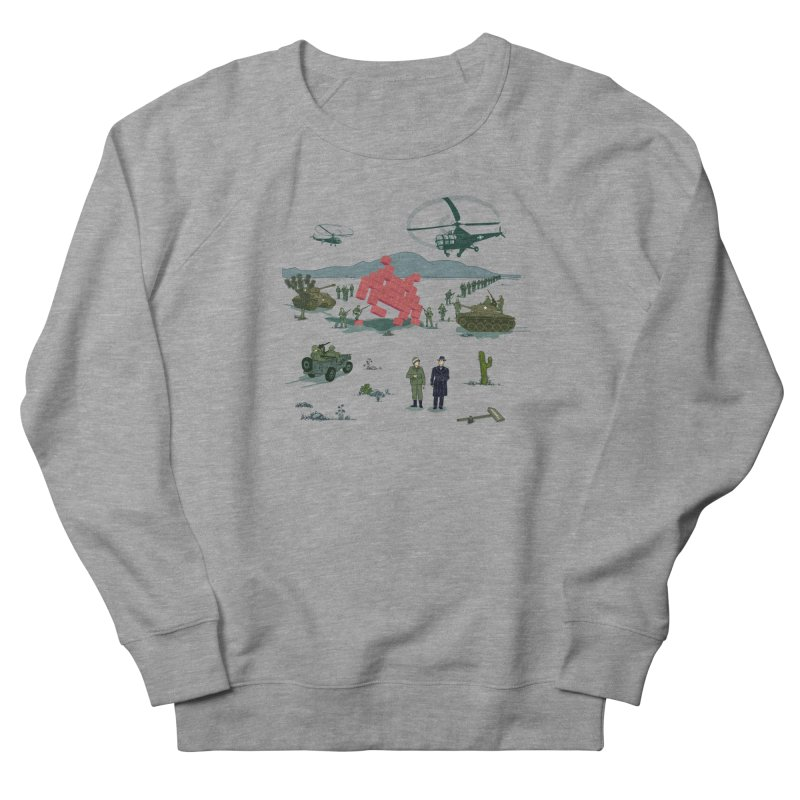 Roswell UFO incident - BLUE Women's French Terry Sweatshirt by UMI's Artist Shop
