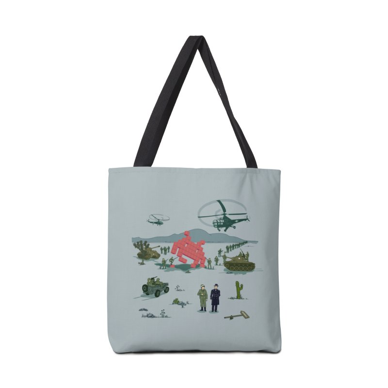 Roswell UFO incident - BLUE Accessories Bag by UMI's Artist Shop