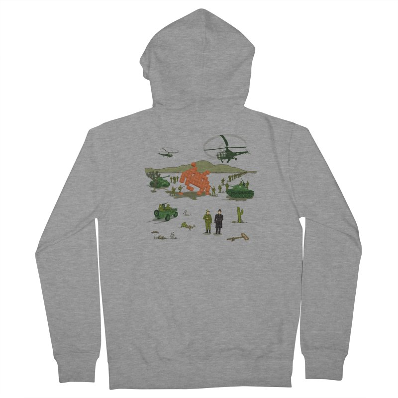 Roswell UFO incident. Women's Zip-Up Hoody by UMI's Artist Shop