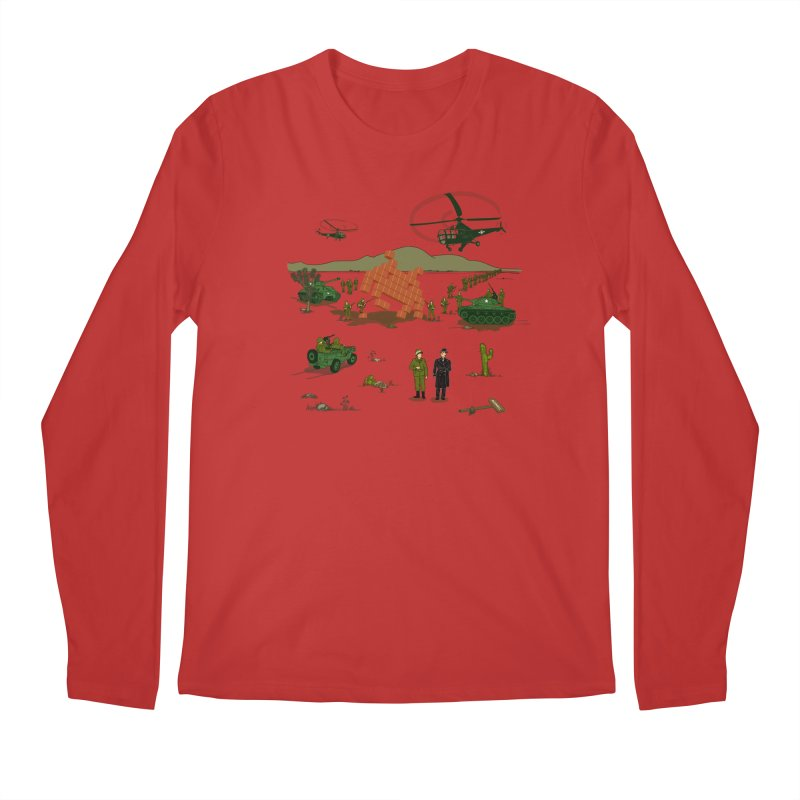 Roswell UFO incident. Men's Longsleeve T-Shirt by UMI's Artist Shop