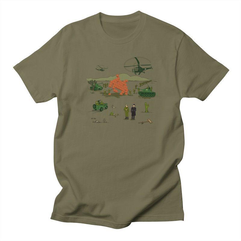 Roswell UFO incident. in Men's T-Shirt Olive by UMI's Artist Shop