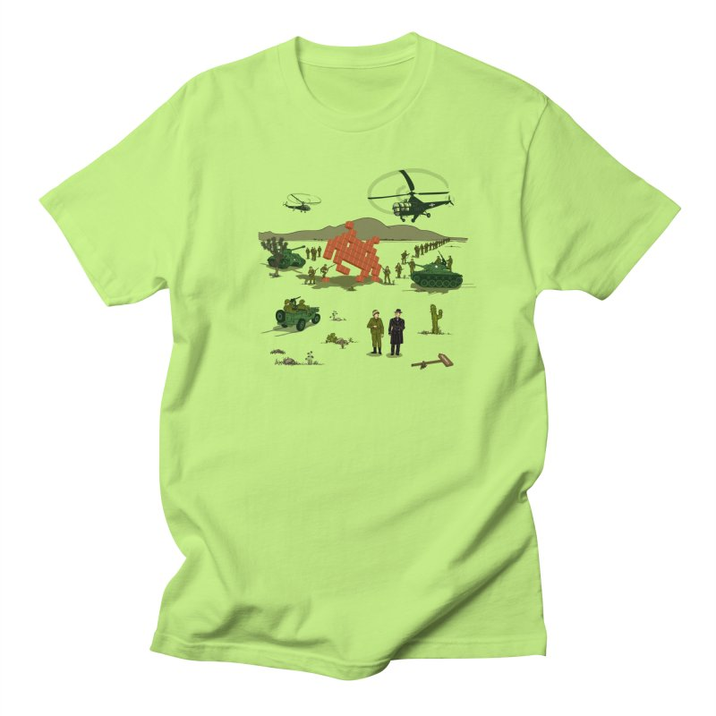 Roswell UFO incident. Men's Regular T-Shirt by UMI's Artist Shop