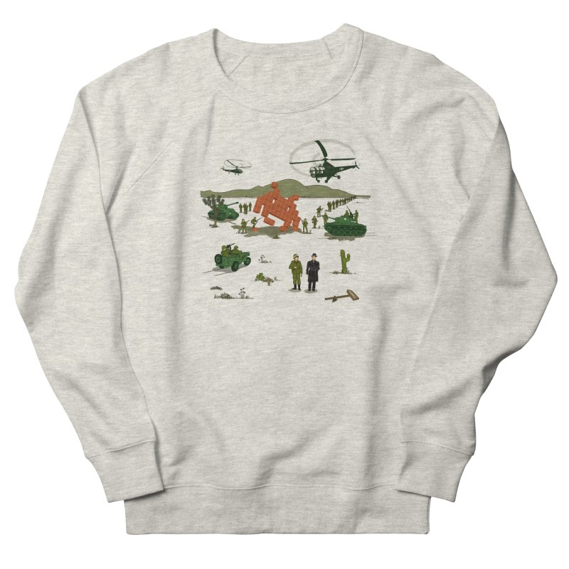 Roswell UFO incident. Women's French Terry Sweatshirt by UMI's Artist Shop