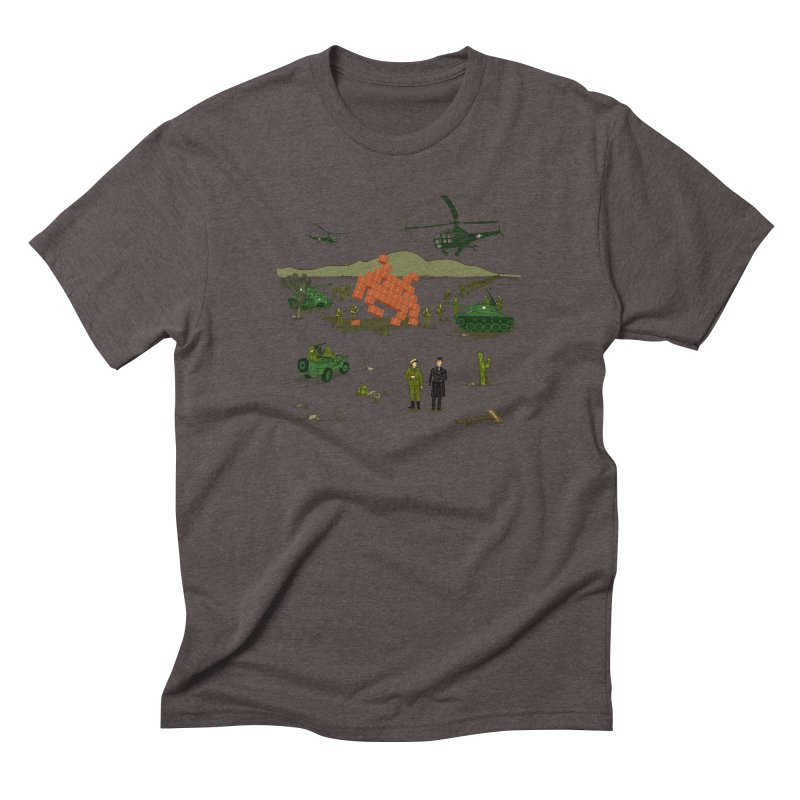 Roswell UFO incident. Men's Triblend T-shirt by UMI's Artist Shop