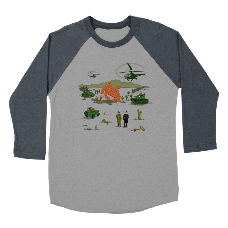 Roswell UFO incident. Women's Baseball Triblend T-Shirt by UMI's Artist Shop