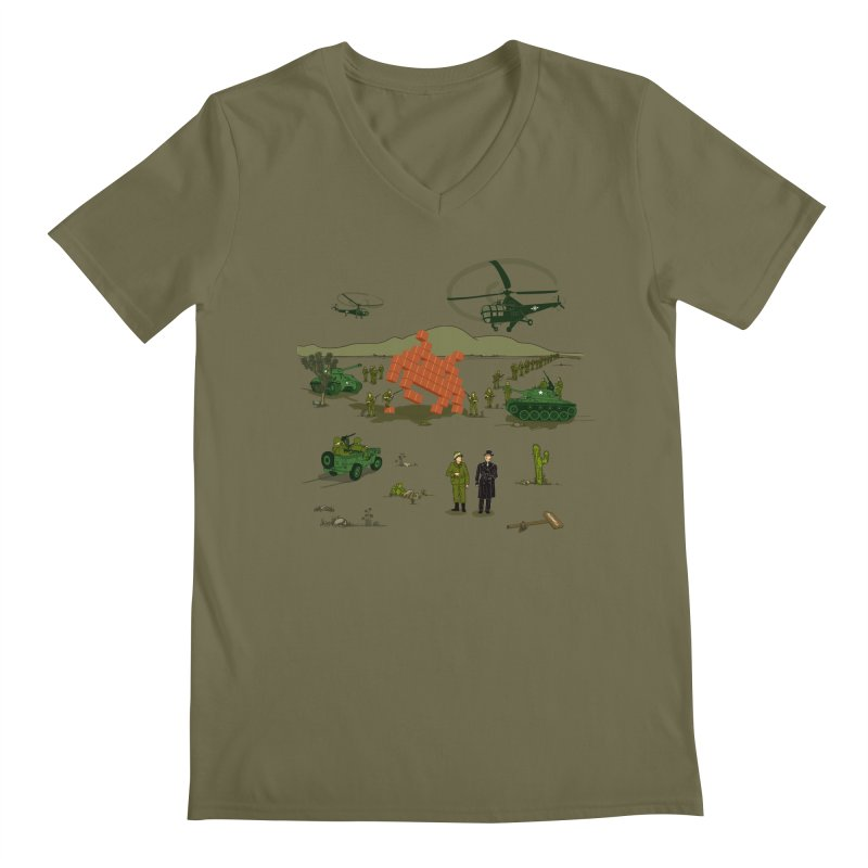 Roswell UFO incident. Men's V-Neck by UMI's Artist Shop
