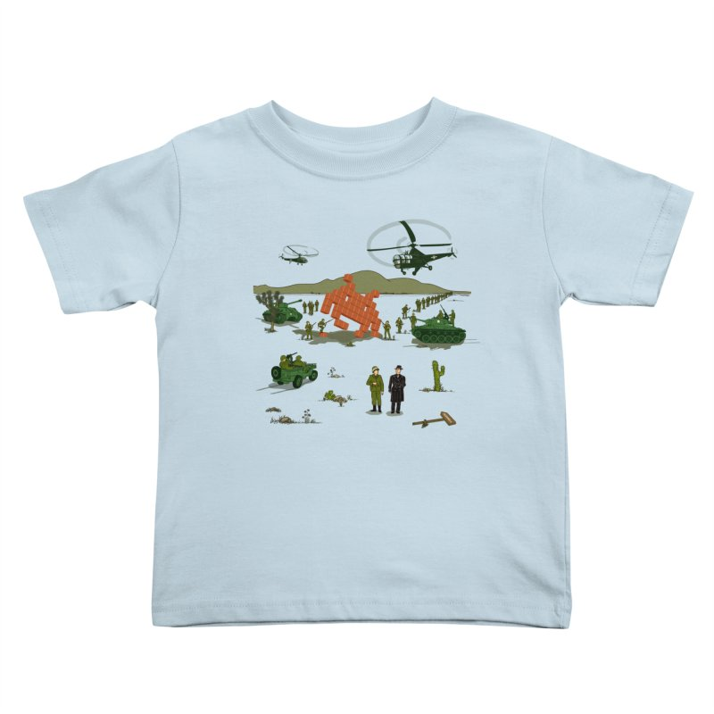 Roswell UFO incident. Kids Toddler T-Shirt by UMI's Artist Shop