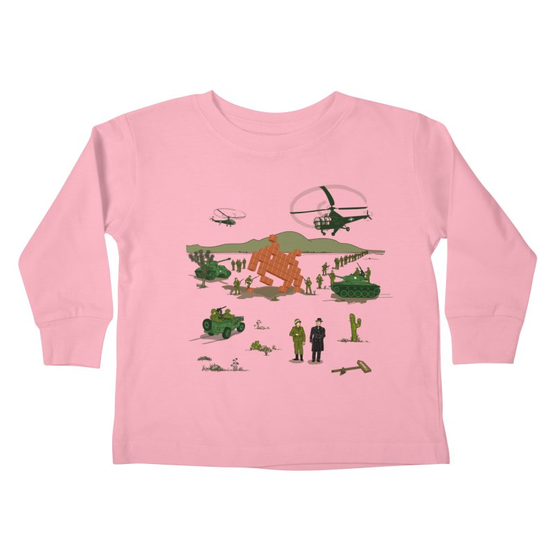 Roswell UFO incident. Kids Toddler Longsleeve T-Shirt by UMI's Artist Shop