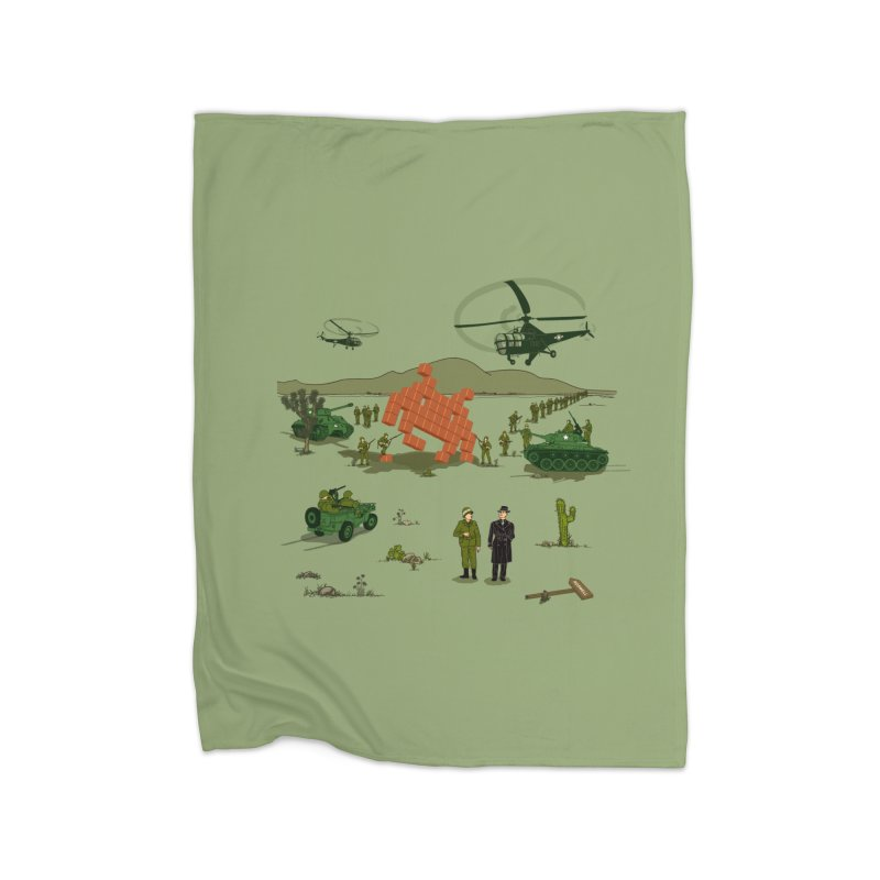 Roswell UFO incident. Home Blanket by UMI's Artist Shop