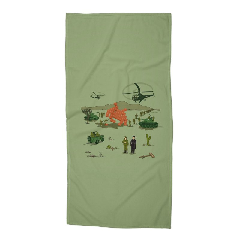 Roswell UFO incident. Accessories Beach Towel by UMI's Artist Shop