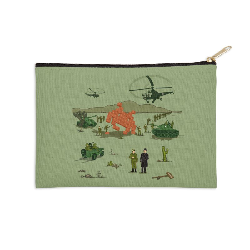 Roswell UFO incident. Accessories Zip Pouch by UMI's Artist Shop
