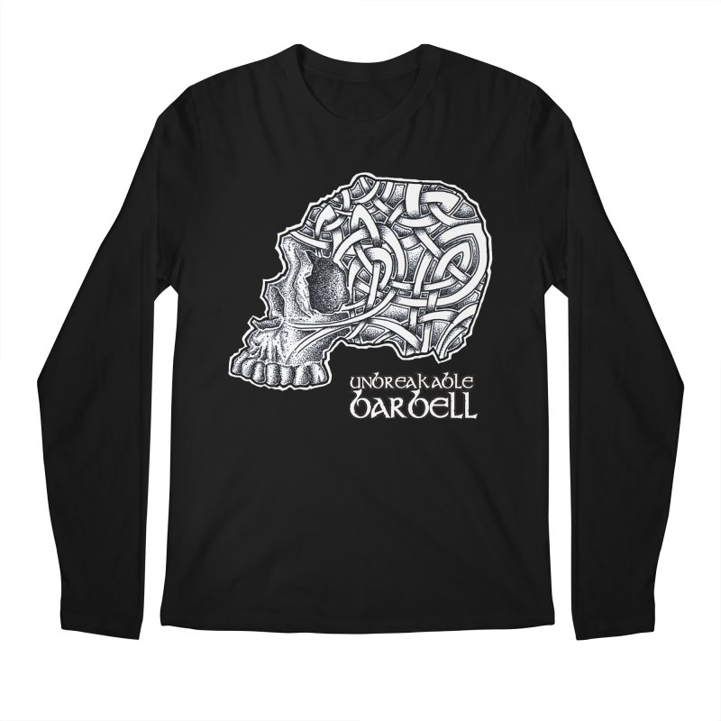 Celtic Skull Men's Longsleeve T-Shirt by Unbreakable Barbell