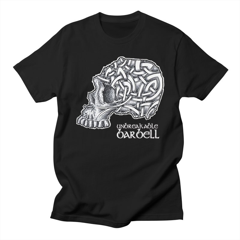 Celtic Skull Men's Regular T-Shirt by Unbreakable Barbell