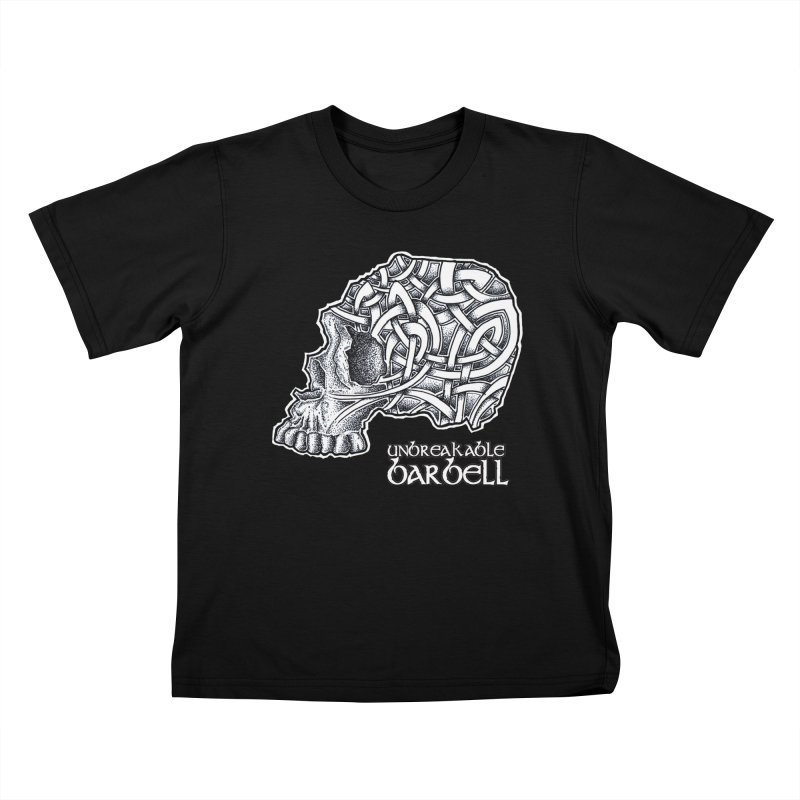Celtic Skull Kids T-Shirt by Unbreakable Barbell